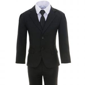 A2017 6-TLG.Kinder festlich Junge Kommunions Hochzeit Anzug