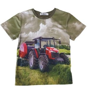 Kinder T-Shirt mit Traktor Motiv